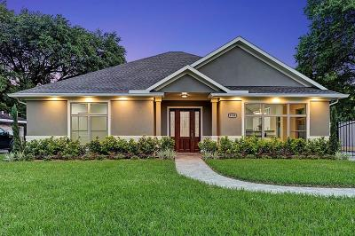 Houston Single Family Home For Sale: 3736 Parkwood Drive