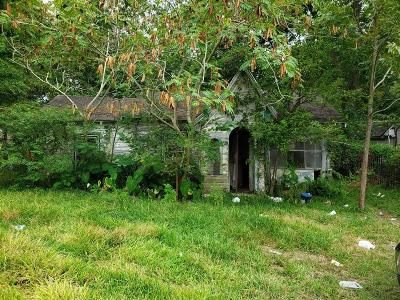 Houston Single Family Home For Sale: 2012 Sadler Street