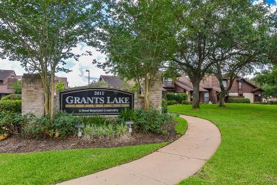 Fort Bend County Condo/Townhouse For Sale: 2611 Grants Lake Boulevard #162