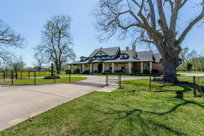 Fort Bend County Country Home/Acreage For Sale: 6935 Bois D Arc Lane