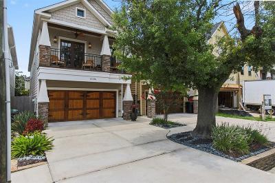 Houston Single Family Home For Sale: 1309 Nashua Street #A