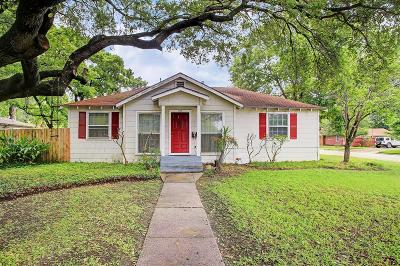 Houston TX Single Family Home For Sale: $419,000