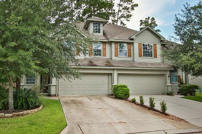 The Woodlands Condo/Townhouse For Sale: 31 Nestlewood Place