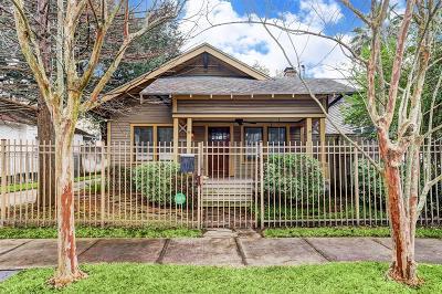 Houston Single Family Home For Sale: 1119 Willard Street