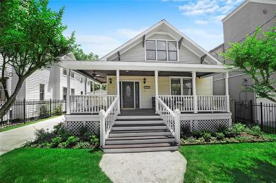 Houston Single Family Home For Sale: 1211 W Drew