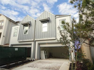 Houston Single Family Home For Sale: 3703 Newhouse Street