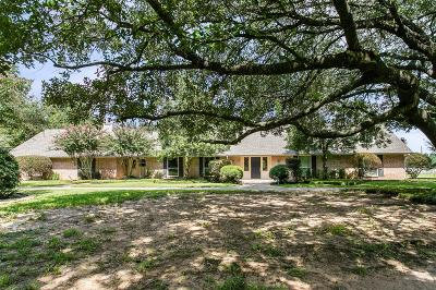 Tomball Single Family Home For Sale: 25229 Hufsmith Cemetery Road