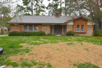 Conroe Single Family Home For Sale: 208 Sherbrook Circle