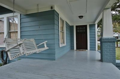 Houston Single Family Home For Sale: 1142 Dunbar Street