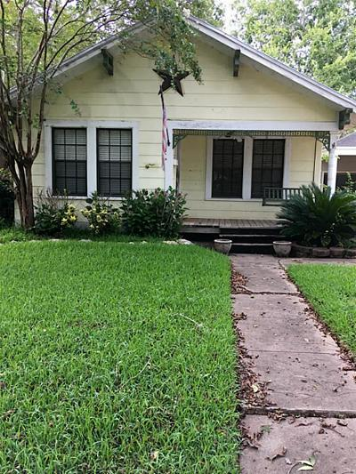 Sugar Land Single Family Home For Sale: 143 2nd Street