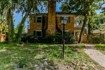 Houston Single Family Home For Sale: 603 Thistlewood Drive