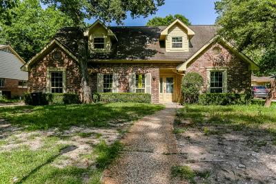 Houston Single Family Home For Sale: 742 Thistlewood Drive
