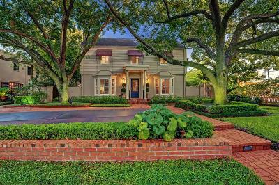 Houston Single Family Home For Sale: 3245 Locke Lane