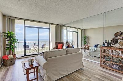 Galveston Mid/High-Rise For Sale: 1401 E Beach Drive #908