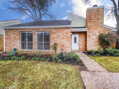 Houston Single Family Home For Sale: 12800 Briar Forest Drive #60