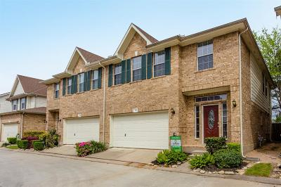 Condo/Townhouse For Sale: 7410 Hollister Spring