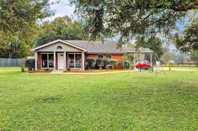 Harris County Single Family Home For Sale: 18211 Kz Rd Road