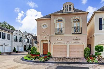 Houston Single Family Home For Sale: 27 Milan Estates