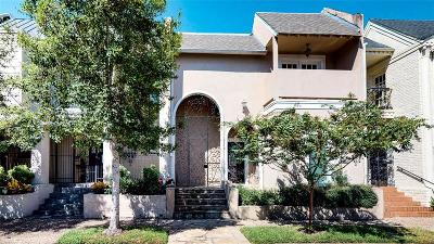 Houston Condo/Townhouse For Sale: 2210 Fulham Court