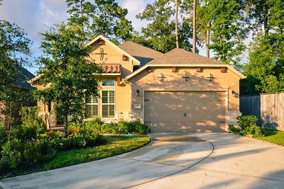 Tomball Single Family Home For Sale: 70 Sundown Ridge Place