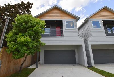 Houston TX Single Family Home For Sale: $384,000