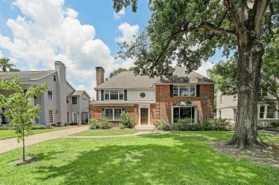 Braeswood Single Family Home For Sale: 2518 Glen Haven Boulevard