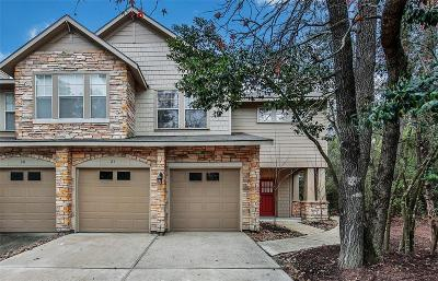 The Woodlands Condo/Townhouse For Sale: 21 Scarlet Woods Court