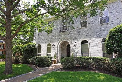 Bellaire Single Family Home For Sale: 4908 Fern