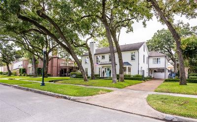 River Oaks Single Family Home For Sale: 3753 Chevy Chase Drive