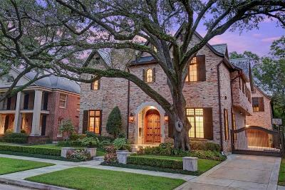 River Oaks Single Family Home For Sale: 3843 Chevy Chase Drive