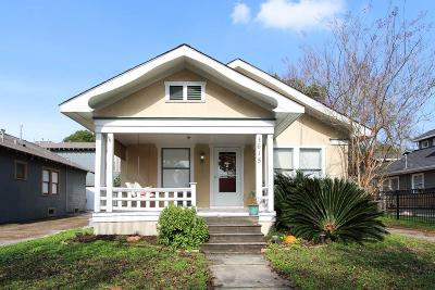 Houston Single Family Home For Sale: 615 Ridge Street