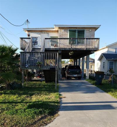 Galveston Single Family Home For Sale: 6120 Avenue Q 1/2