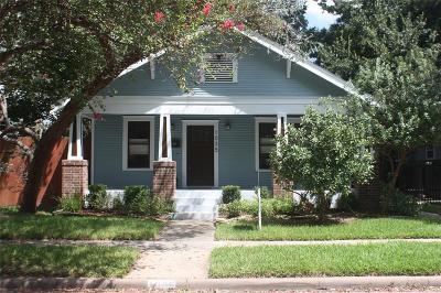 Houston Single Family Home For Sale: 1035 Walling Street