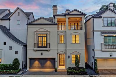 Houston Single Family Home For Sale: 213 Memorial Parkview Drive