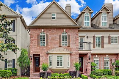 Houston Condo/Townhouse For Sale: 307 Grand View Terrace