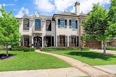 Houston Single Family Home For Sale: 3738 Meadow Lake Lane