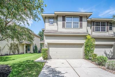 The Woodlands Condo/Townhouse For Sale: 58 S Burberry Park Circle