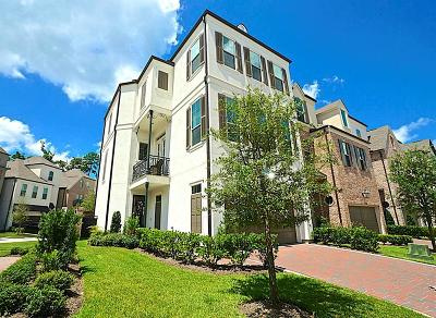 The Woodlands Single Family Home For Sale: 95 Gateway Park Place