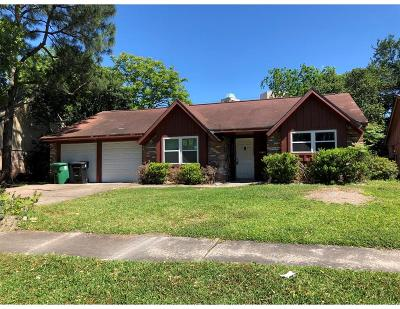 Houston Single Family Home For Sale: 7630 Troulon Drive