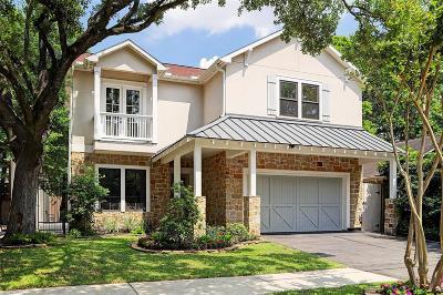 Houston Single Family Home For Sale: 1635 Park Street