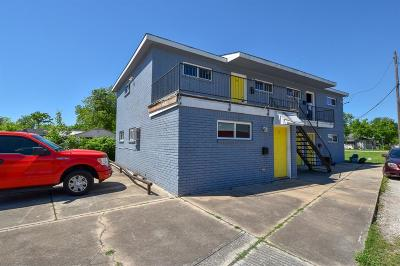 Houston Multi Family Home For Sale: 3610 Burkett Street