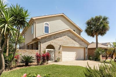 Galveston Single Family Home For Sale: 6 Tradewinds Drive
