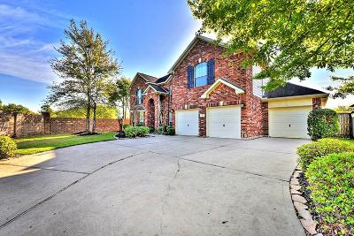 Katy Single Family Home For Sale: 2103 Longdraw Cove