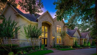 The Woodlands TX Single Family Home For Sale: $1,350,000