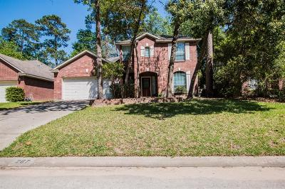 Conroe Single Family Home For Sale: 267 Misty Dawn Drive