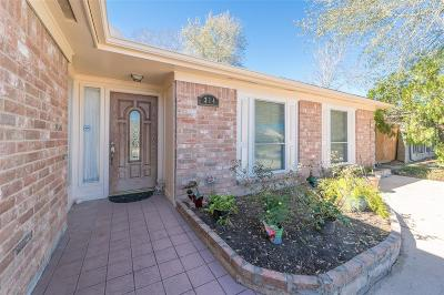 Katy Single Family Home For Sale: 314 Gentilly Drive