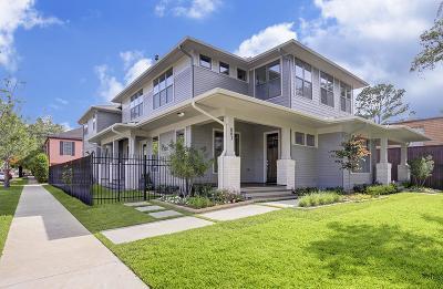 Houston Condo/Townhouse For Sale: 803 Kipling Street