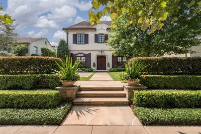River Oaks Single Family Home For Sale: 2223 Del Monte Drive