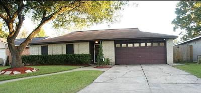 Harris County Single Family Home Option Pending: 9908 Blue Bird Street