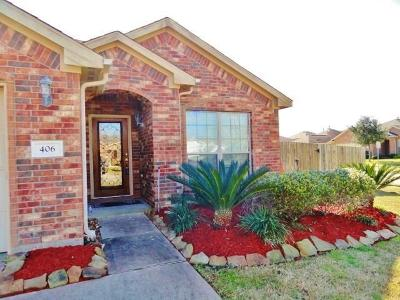 Alvin Single Family Home For Sale: 406 De Coster Boulevard